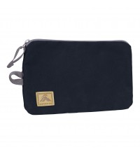 Aztec Zip Pouch Large - Black Iris